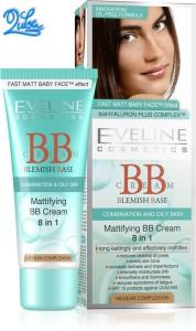 Eveline mattifying bb cream 8 in 1